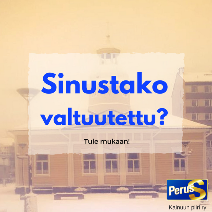 SINUSTAKO VALTUUTETTU